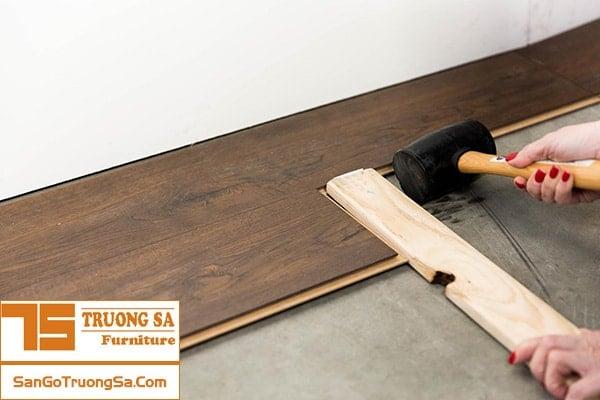 cách lắp sàn gỗ