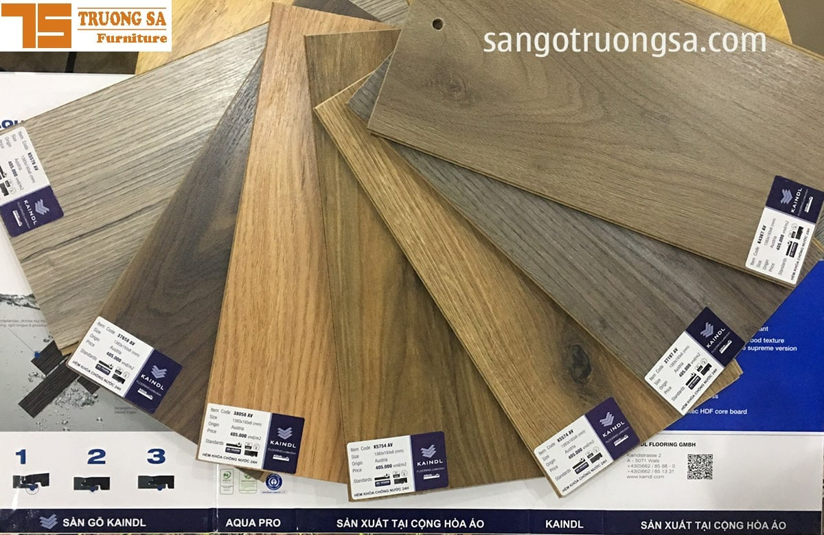 Sàn gỗ Kaindl 8mm